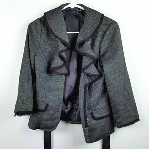 Maurices Blazer Jacket With Tulle and Ribbon